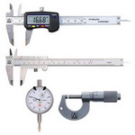 Micrometers, Calipers & Gages