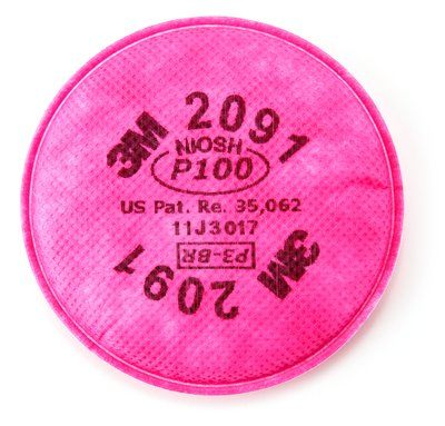 3M™ (2091) Particulate Filter, P100