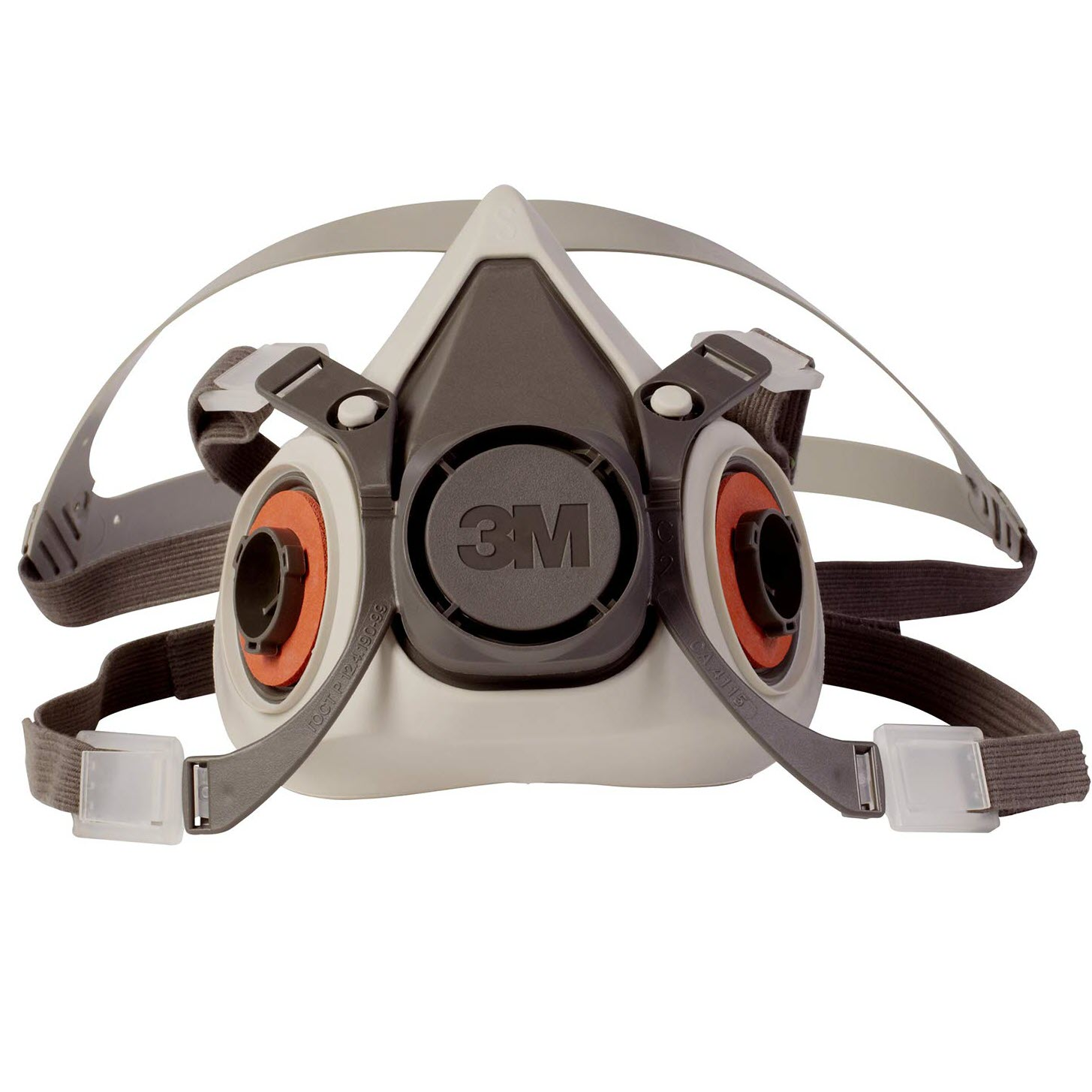 3M™ (6200) Half Facepiece Respirator, Dual Cartridge, Size MD
