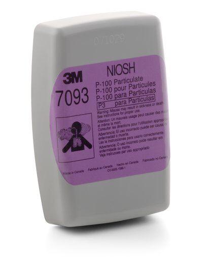 3M™ Particulate Filter (7093B), P100