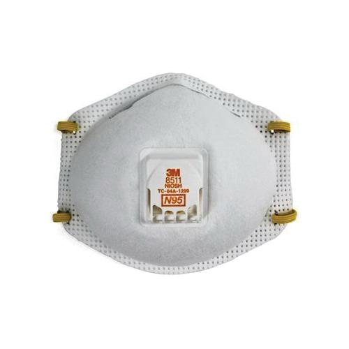 3M™ Particulate Respirator 8511, N95 w/Exhalation Valve