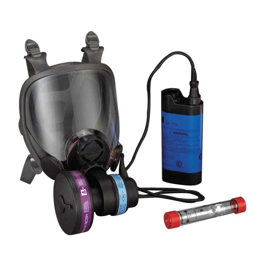 3M™ Powerflow Face-Mounted Powered Air Purifying Respirator, LG