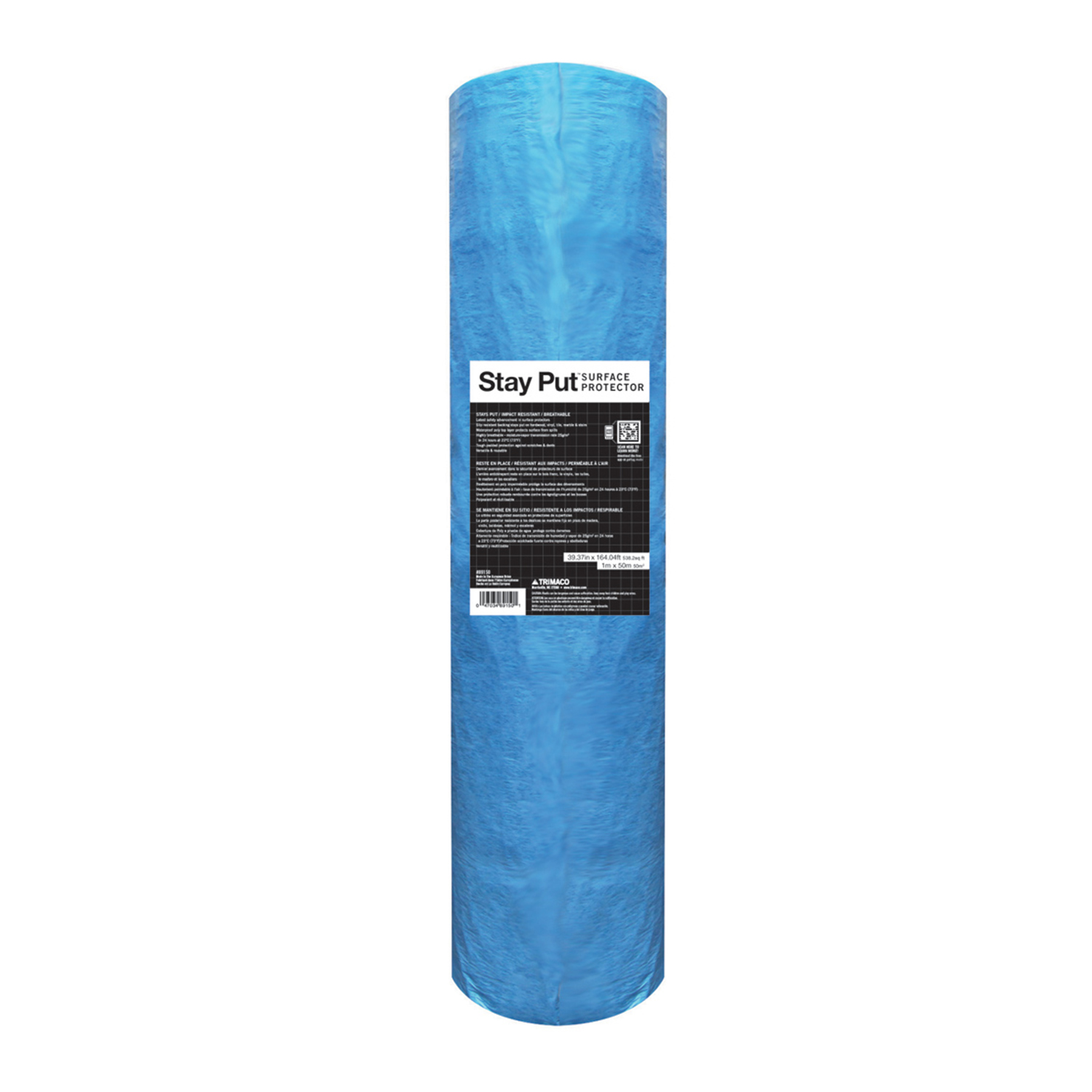 Trimaco Stay Put® Slip Resistant Padded Surface Protector, 39.37