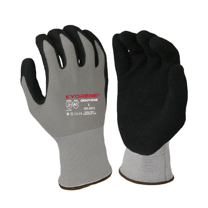 Armor Guys KYORENE® Gloves (00-001), Graphene Liner, Nitrile Palm, Cut A6