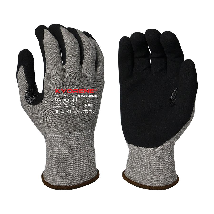 Armor Guys KYORENE® Graphene Glove, Nitrile Palm, Cut Level A3, Vend Pack