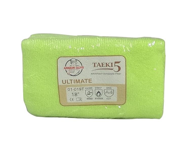 Armor Guys TAEKI5® Sleeve with Thumb Hole, HV Yellow, Cut Level A4, Vending Pkg