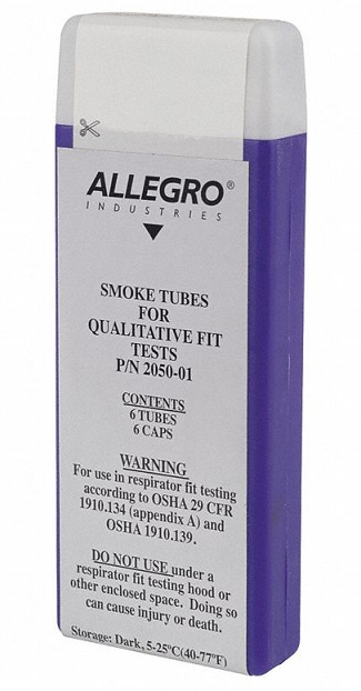 Allegro® 2050-01 Replacement Smoke Tube 6 per BX -  For Use With 2050 Irritant Smoke Test Kit -  Break-Off Tip -  Glass Tube