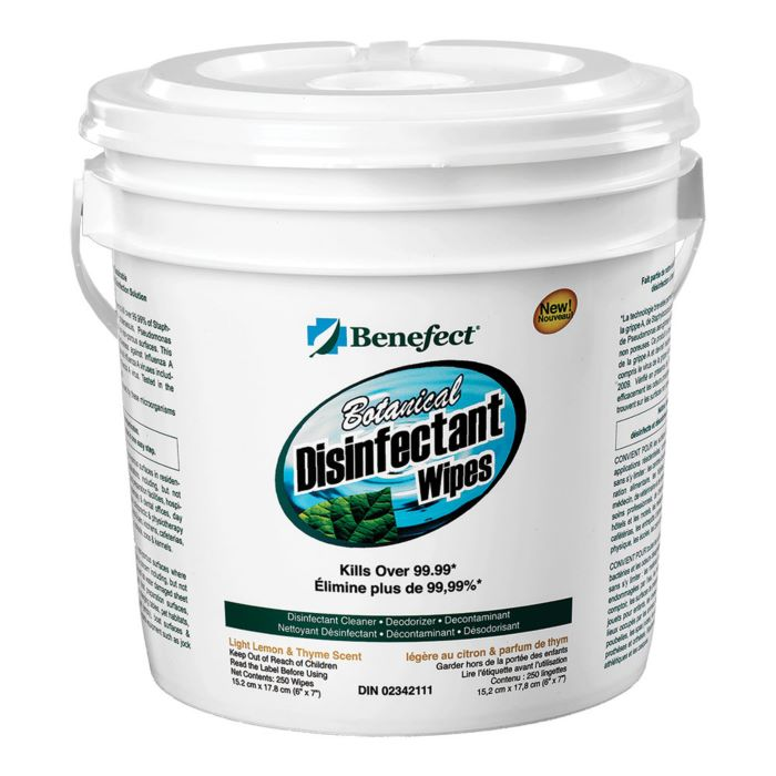 Benefect® Botanical Disinfectant Wipes