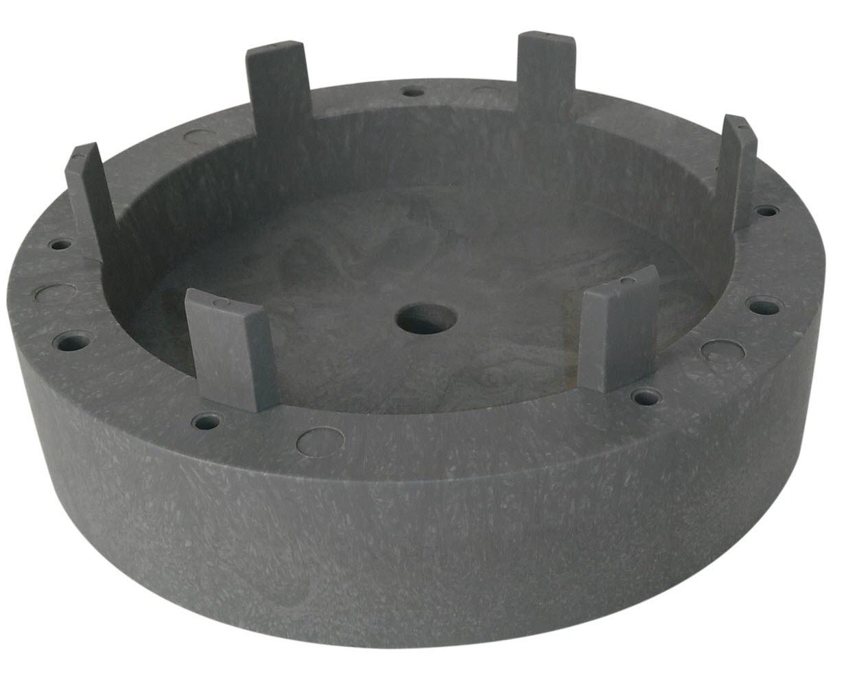 Floor Machine Rotary Pad Replacement Riser, 1.25