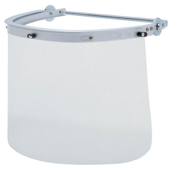MCR Safety Aluminum Face Shield Bracket for Cap-Style Hardhat