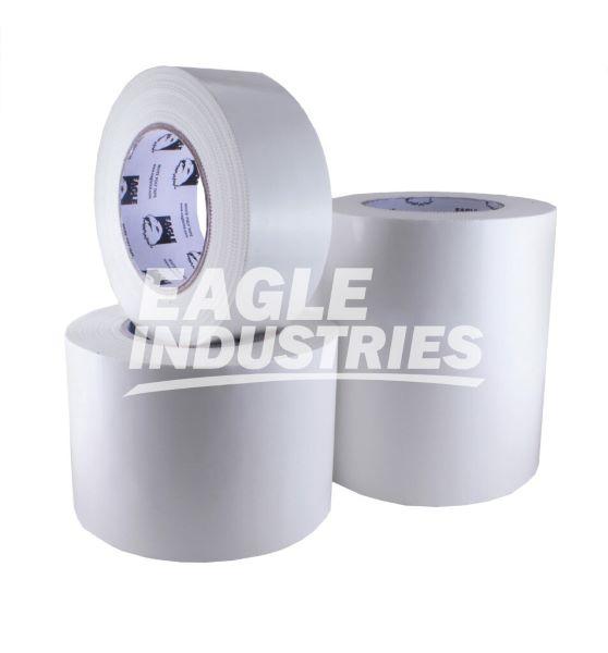 "White Standard Polyethylene Tape, 4"" x 180'"