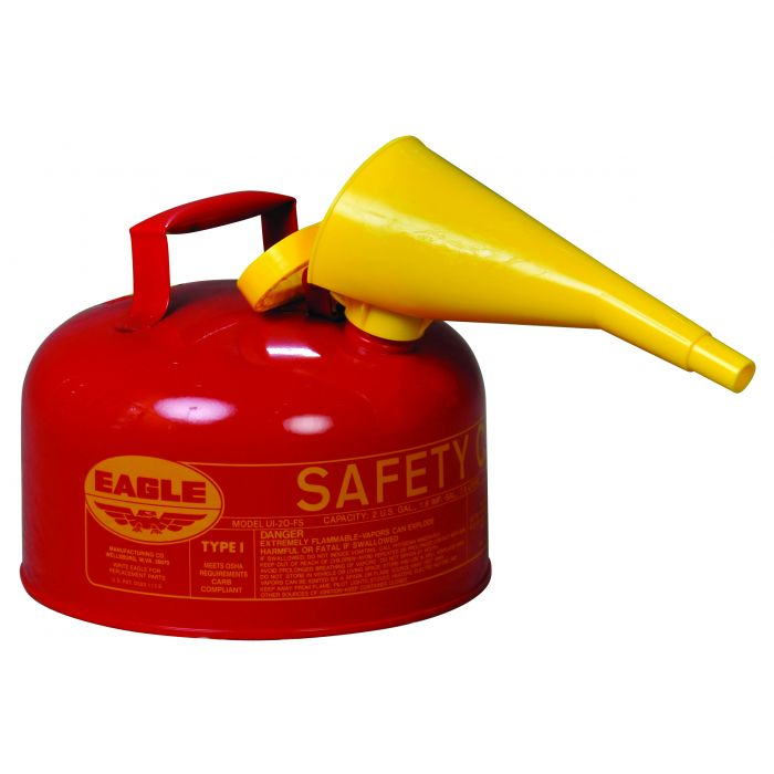 2-GAL SAFETY CAN W/ FUNNEL