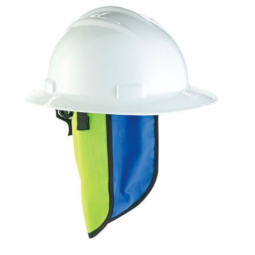 Chill-Its® 6670CT Evaporative Hard Hat Neck Shade w/Cooling Towel