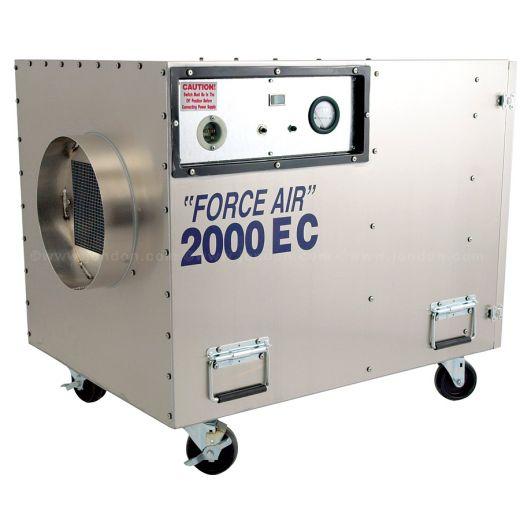 ACSI Force Air 2000 EC Negative Air Machine, 2000cfm