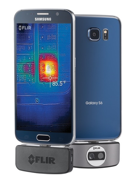 FLIR® ONE Thermal Imaging Infrared Camera for Android Smartphones & Tablets