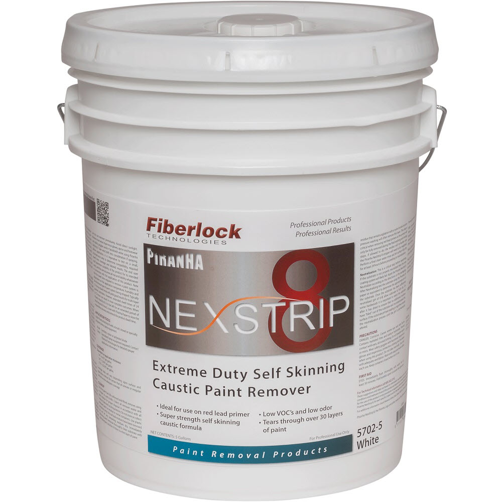 Fiberlock 5702-5 Extreme Duty Paint Remover -  5 gal -  Off-White
