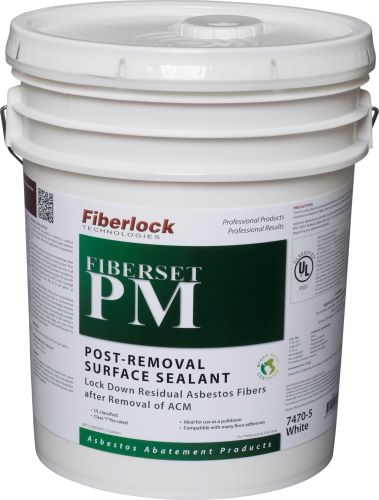 Fiberlock 7470-5 Post Removal Surface Sealant -  5 gal -  White -  1 - 2 hr Touch -  1 - 2 hr Recoat Dry Time -  Very Slight
