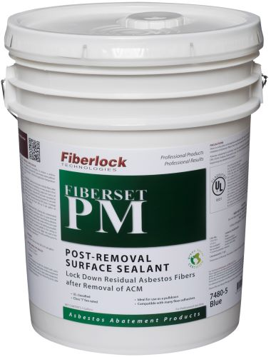 Fiberlock 7480-5 Post Removal Surface Sealant -  5 gal -  Blue -  1 - 2 hr Touch -  1 - 2 hr Recoat Dry Time -  Very Slight