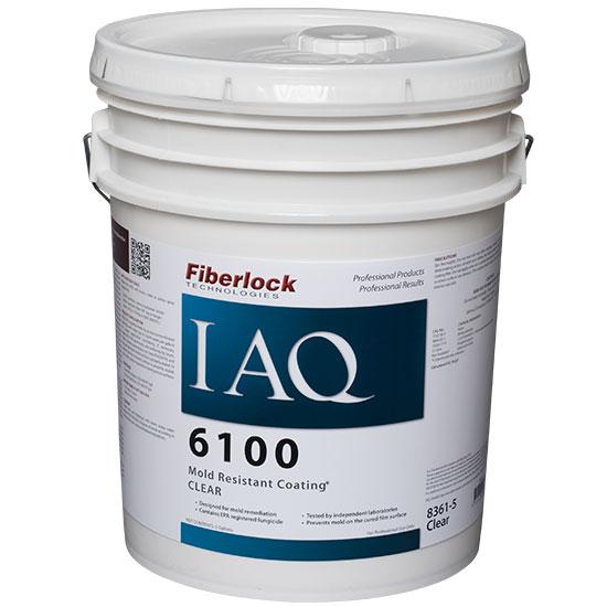 Fiberlock IAQ 6100 Mold Resistant Coating, 5 Gallon