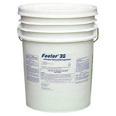 Foster® FOS3260 Asbestos Removal Encapsulant -  Liquid -  Blue -  100 sq-ft/1/2 gal Coverage