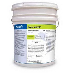 Foster® FOS4020 Fungicidal Protective Coating -  5 gal -  Liquid -  White -  80 sq-ft/gal
