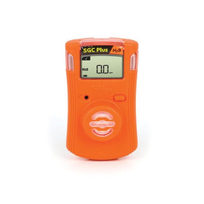 Gas Clip Single Gas Clip Plus With Hibernate Mode -  H2S -  0 to 100 ppm Range -  Audible/Visual/Vibrating Alarm