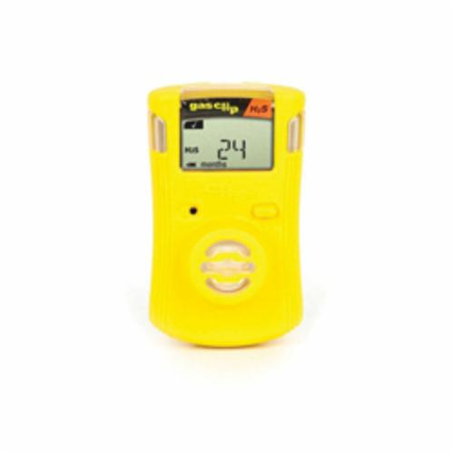Gas Clip Single Gas Clip -  CO -  0 to 300 ppm Range -  Audible/Visual/Vibrating Alarm -  Lithium-Ion Battery