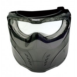 Ironwear® Full Face Protection w/Detachable Goggle & Mask, Clear AF Lens