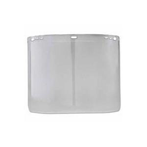 Jackson® Safety F20 Molded Polycarbonate D-Shape Faceshield