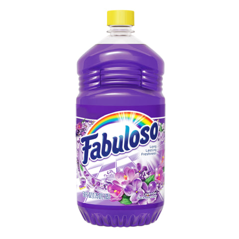 Fabuloso® Multi-Use Cleaner, Lavender Scent, 56 oz Bottle, 6/cs