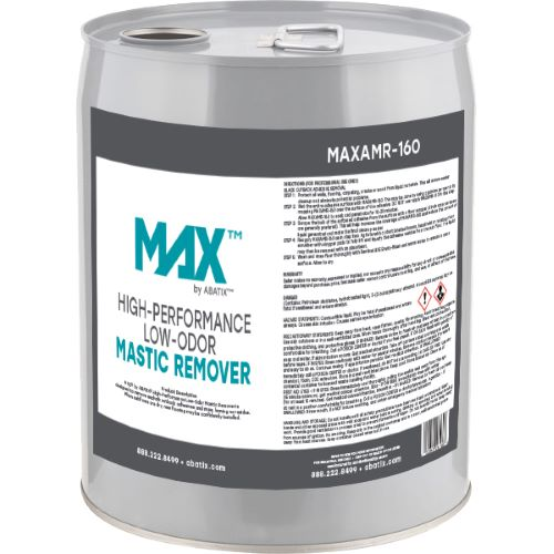 MAX™ by ABATIX™ High-Performance Low-Odor Mastic Remover, 5 Gal