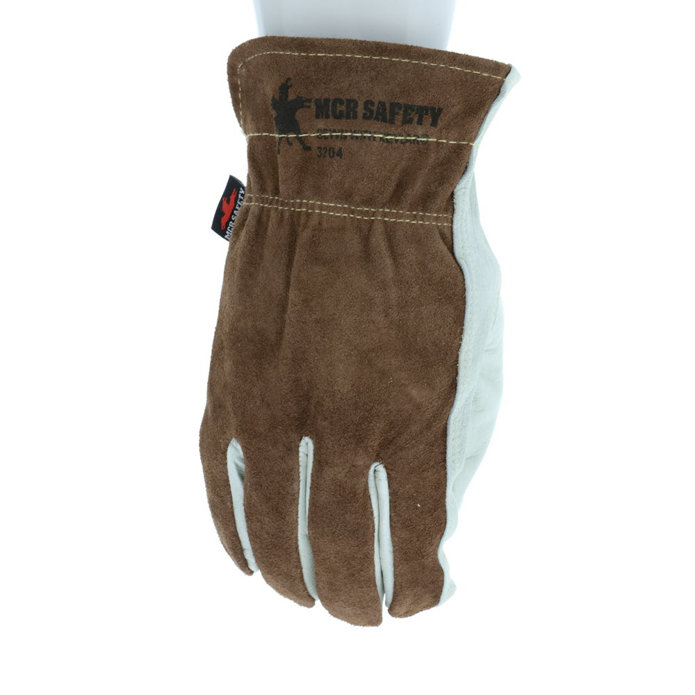 MCR Safety 3204K Drivers Gloves, Select Grade, Kevlar Lined, Size Medium