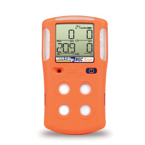 Multi Gas Clip Portable Gas Detector, Simple Version (H2S, CO, O2, LEL)
