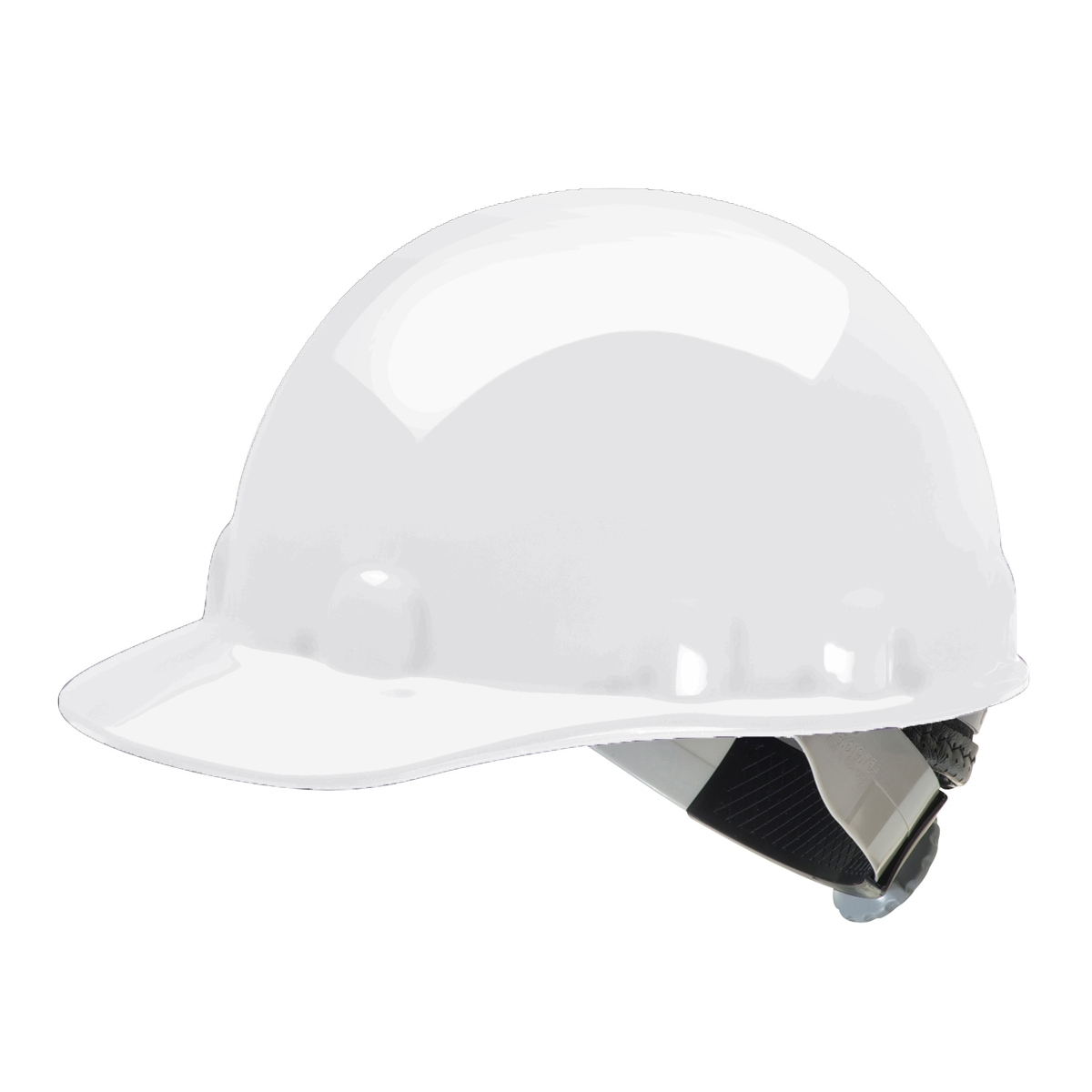 Fibre Metal E2SW Hard Hat with SwingStrap Suspension, White, NOOTER Logo