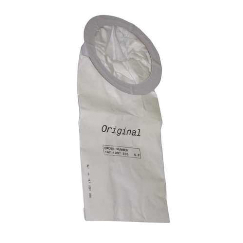Nilfisk® 1471097500 Non-Reusable Disposable Dust Bag, 5/pack