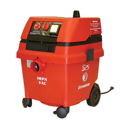 Pullman Ermator 200800018A Wet/Dry Vacuum With Power Tool Outlet -  7 gal -  1.7 hp -  9.8/4.9 A -  120/230 VAC
