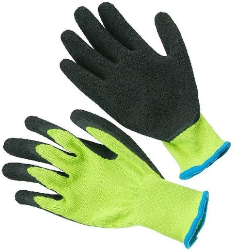 Seattle Glove (300BLP) Hi-Viz String Knit Glove with Coated Palm