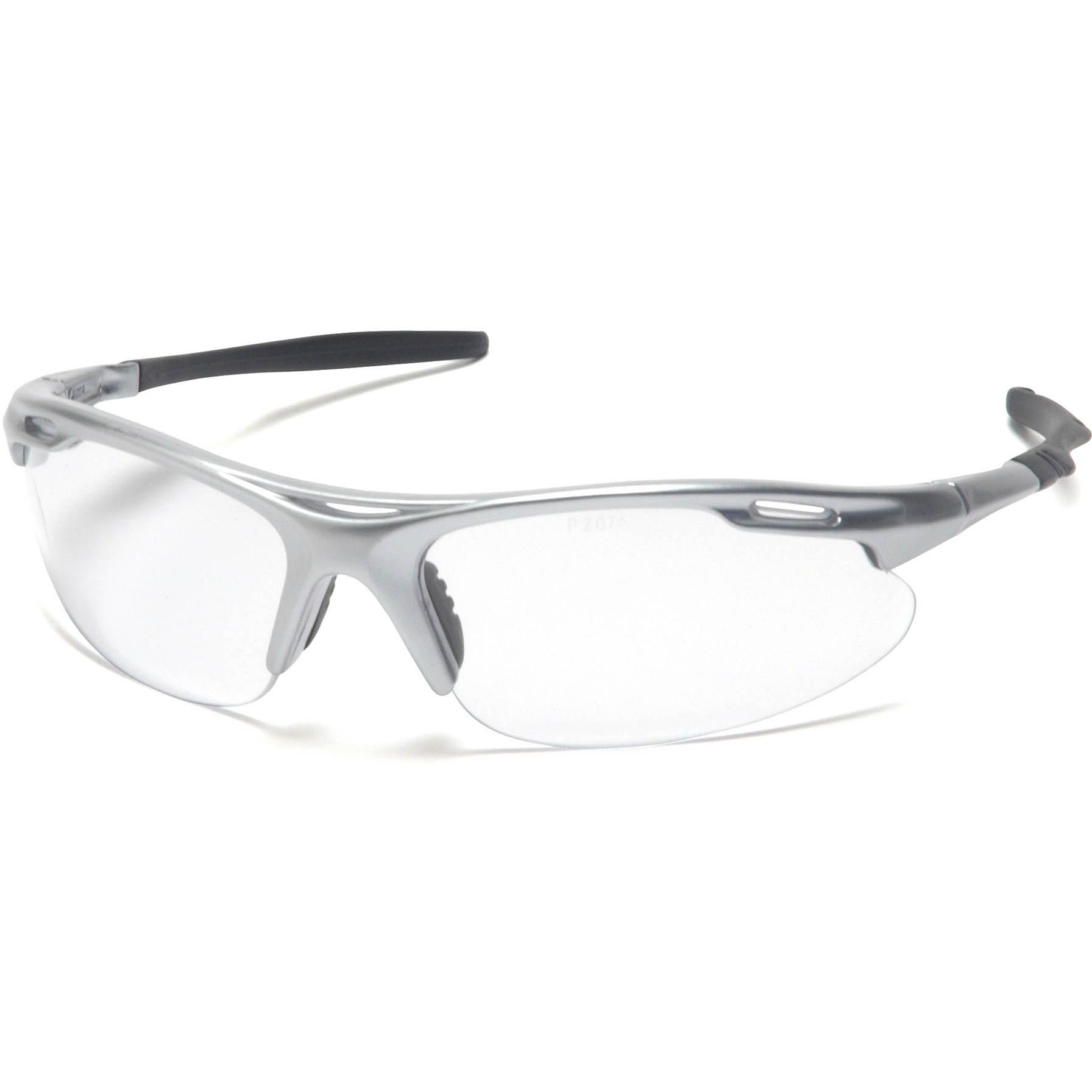 Pyramex® Avante® Safety Glasses, Gunmetal Frame, Clear Lens
