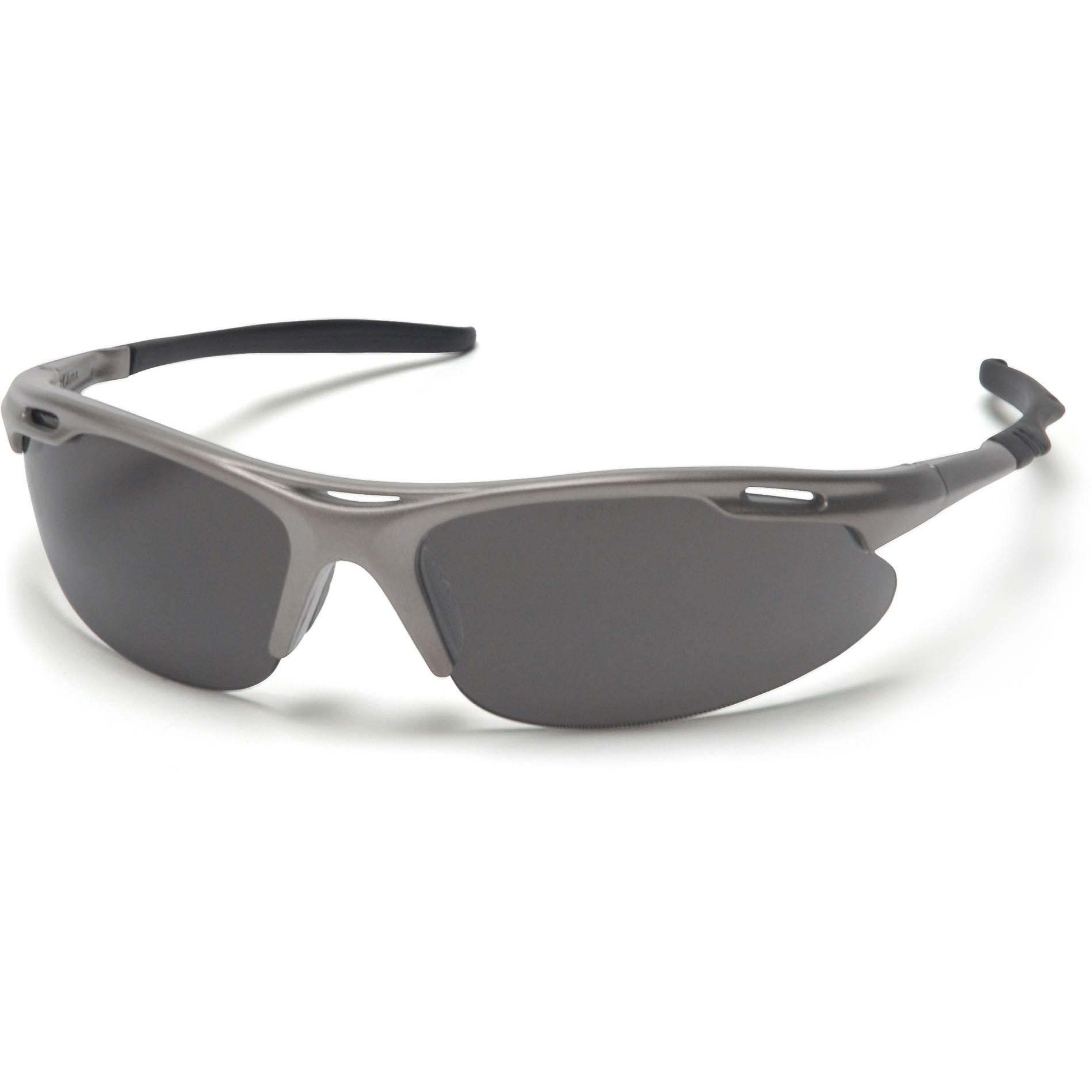Pyramex® Avante® Safety Glasses, Gunmetal Frame, Gray Lens