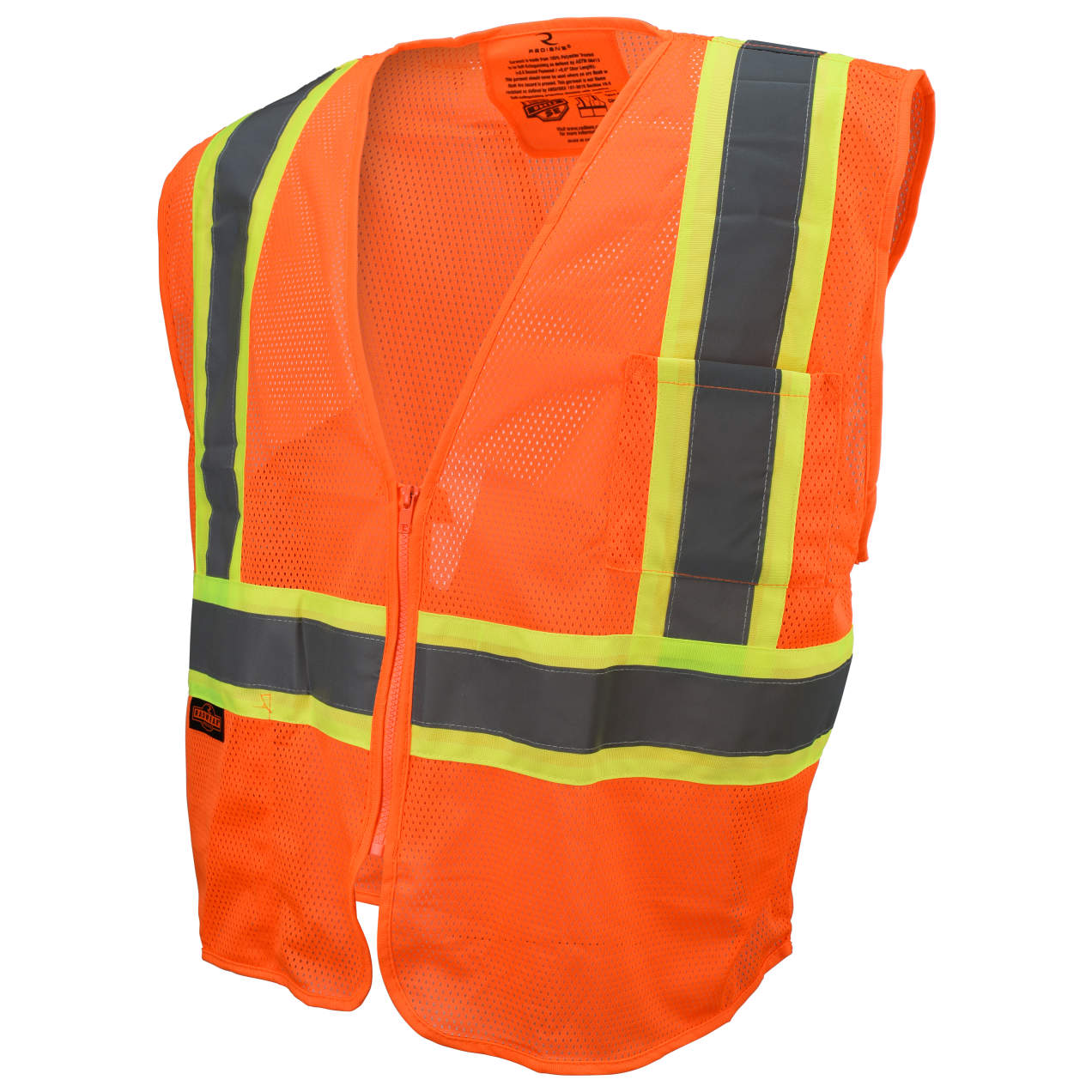 Radians® (SV225) Class 2 Self Extinguishing Two-Tone Trim Safety Vest