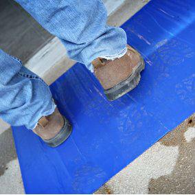 Trimaco Dirt Trapper® (01267) Ultra Sticky Mat, Blue