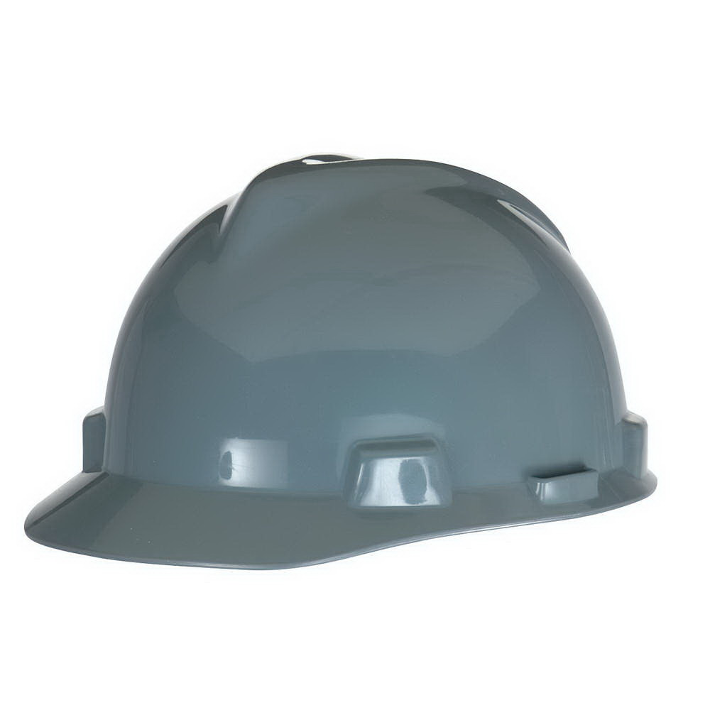 V-Gard® 463948 Front Brim Slotted Hard Hat - 4-Point Pinlock