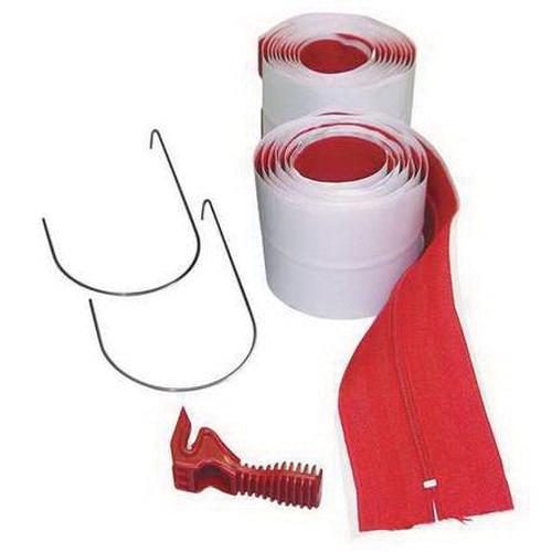 ZipWall® (HDAZ2) Heavy Duty Self-Adhesive Zipper, 2-Pack