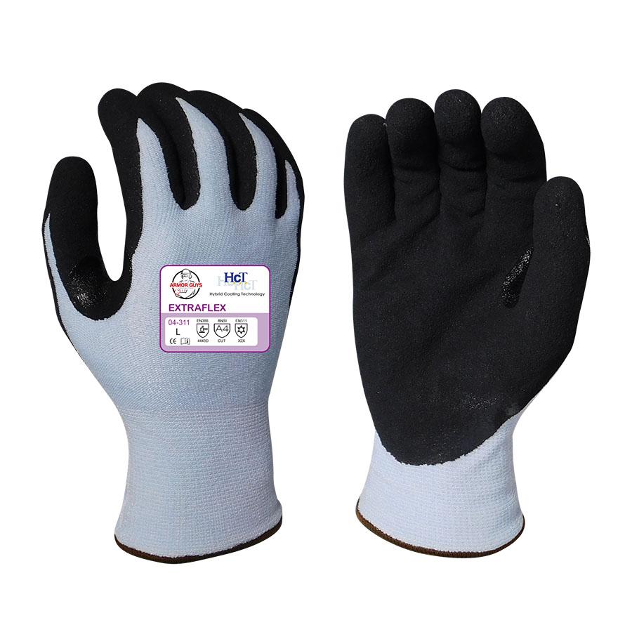 Armor Guys EXTRAFLEX Gloves - CR Nitrile Palm Cut A4 - (04-311)