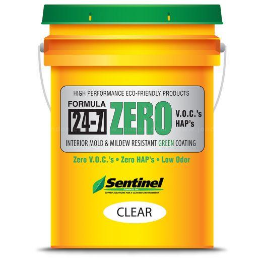 Sentinel 24-7ZERO (Clear) Interior Mold & Mildew Resistant Coating, 5 Gal
