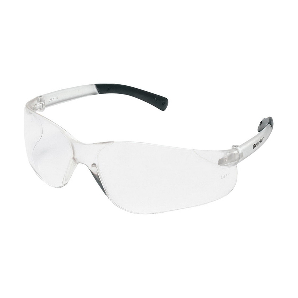 MCR Safety BearKat® BK1 Series Safety Glasses, Clear Scratch Resistant Lens