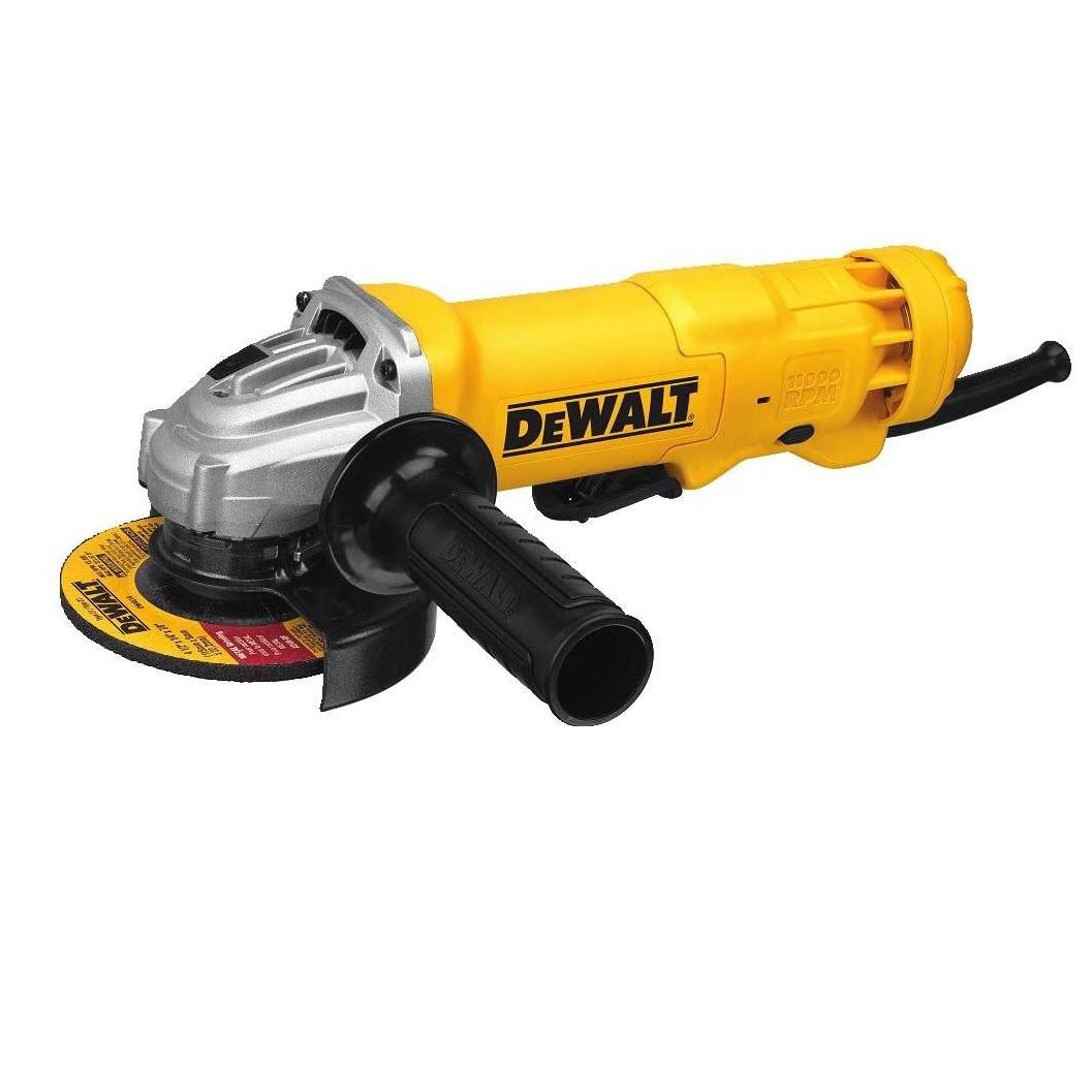 "Dewalt DWE402W Small Angle Corded Grinder, 4-1/2"""