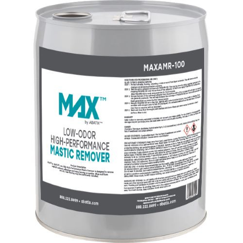 MAX™ by ABATIX™ Low-Odor High Performance Mastic Remover, 5 Gallon