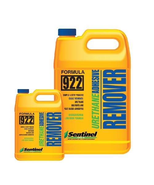 Sentinel 922 Urethane Adhesive Remover -  1 gal -  Liquid -  Amber -  Mild Musty