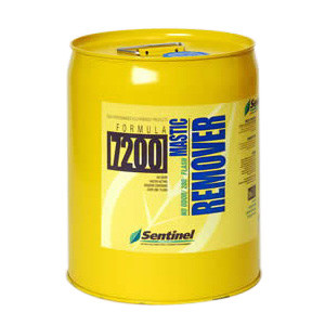 Sentinel 7200/05 Mastic Remover -  80 - 175 sq-ft/gal Coverage -  Clear -  Mild Solvent